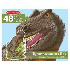 Melissa & Doug T-Rex Dinosaur Jumbo Jigsaw Floor Puzzle 48pc