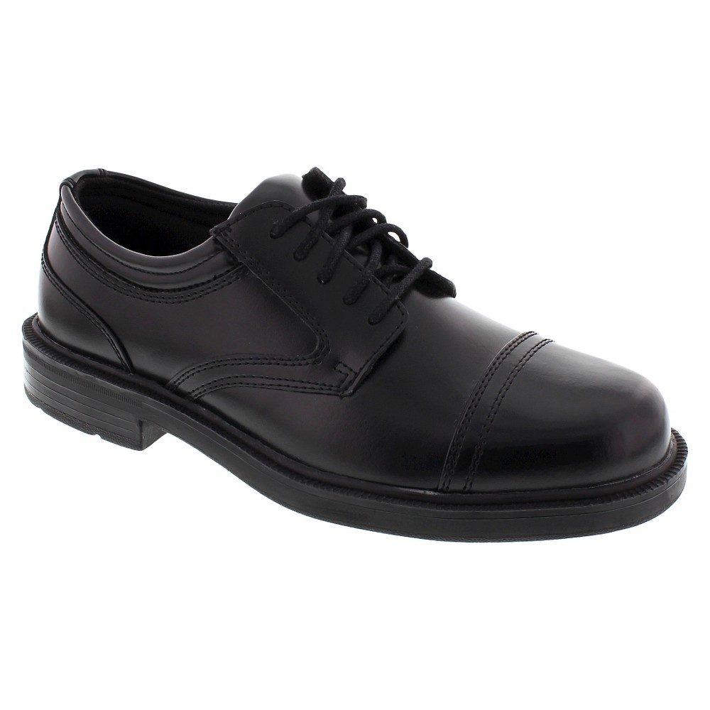 Men's Deer Stags Wide Width Telegraph Oxfords - Black 16W, Size: 16 Wide