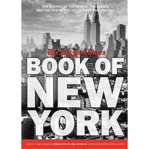 New York Times Book of New York - (Hardcover) - image 1 of 1