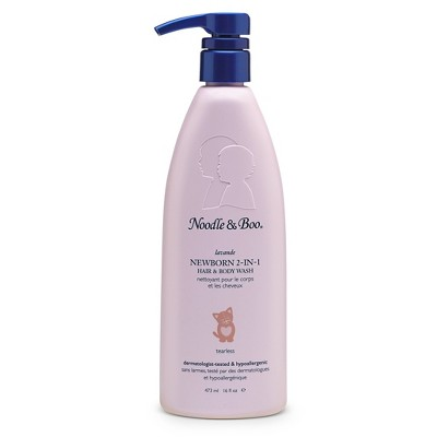 Noodle & Boo Lavender Newborn 2-In-1 Hair and Body Wash - 16oz