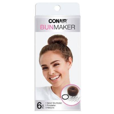 Conair Bun Maker Kit for All Hair Types- 6pc
