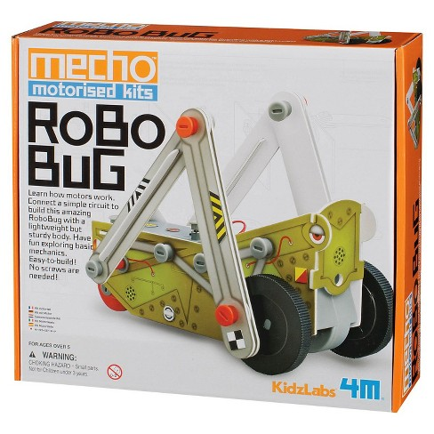 4M KidzLabs Robo Bug Mecho Motorized Science Kit - STEM - image 1 of 1