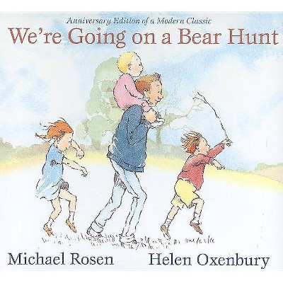 We're Going on a Bear Hunt - (Classic Board Books) by  Michael Rosen (Board Book)
