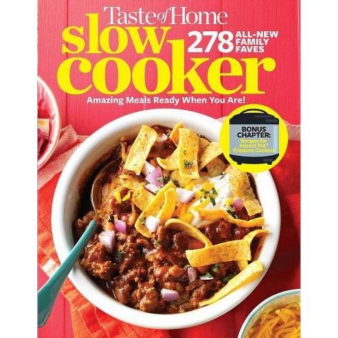 Taste Of Home Slow Cooker 3e Paperback Target
