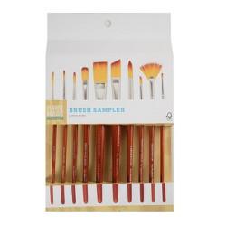 10ct Brush Sampler Hand Made Modern®