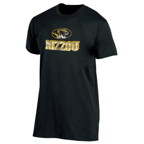 Missouri Tigers Men's Short Sleeve Keep the Lights On Bi-Blend Gray Heathered T-Shirt S - image 1 of 2