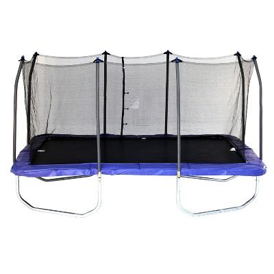 Skywalker Trampolines 15' Rectangle Trampoline and Enclosure - Blue