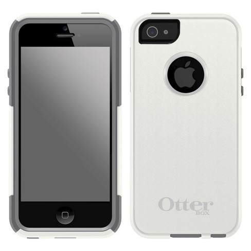online store 961b1 0766d OtterBox® iPhone 5/5S Case Commuter Glacier Cell Phone (41296TGR)-  White/Gray