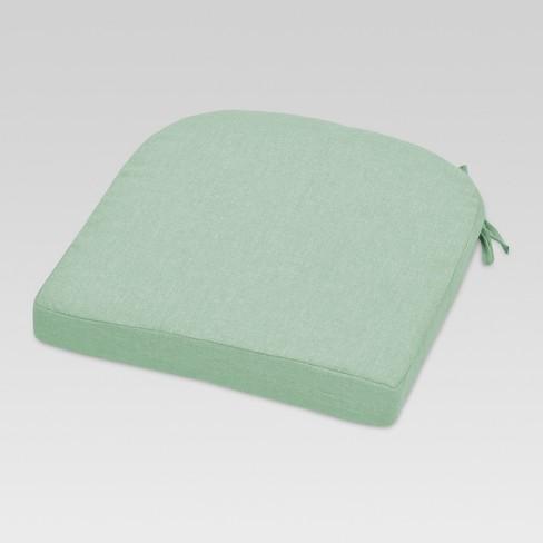 Outdoor Round Back Seat Cushion - Threshold™ - image 1 of 2