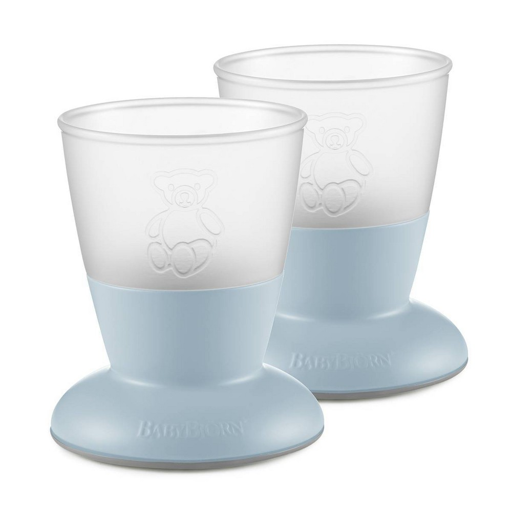 Image of BabyBjorn cup powder blue - 2pk