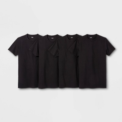 Men's Short Sleeve 4pk Crew-Neck T-Shirt - Goodfellow & Co™