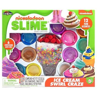 Nickelodeon Ice Cream Swirl Craze Slime Kit by Cra-Z-Art