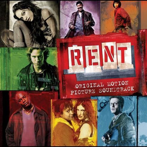 Jonathan Larson - RENT (Original Motion Picture Soundtrack) (CD) - image 1 of 3