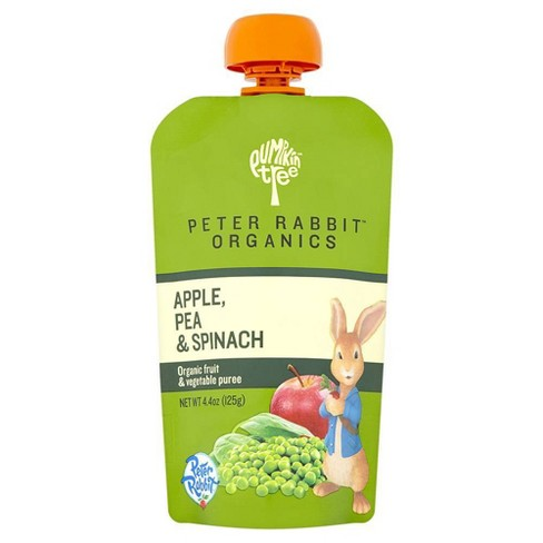 Peter Rabbit Organics Apple Pea & Spinach Baby Food Pouch - 4.4oz - image 1 of 3