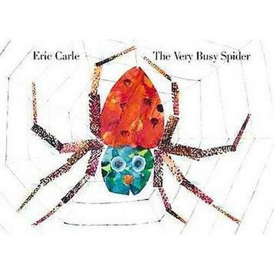 The Very Busy Spider - by Eric Carle (Board Book)