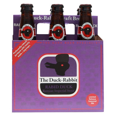 Duck-Rabbit® Rabid Duck Russian Imperial Stout - 6pk / 12oz Bottles - image 1 of 1