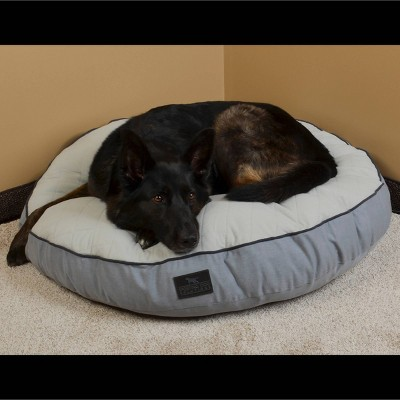 Sporting Dog Solutions Round Gusset Dog Bed - L - Gray