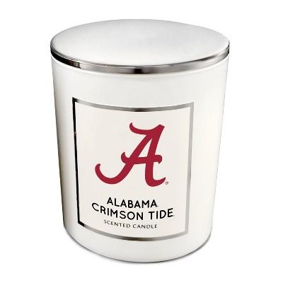 NCAA Alabama Crimson Tide Sweet Victory 16oz Candle with Embossed Lid