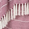 "60""x50"" Woven Stripe Throw Blanket Purple - Opalhouse™ - image 3 of 3"