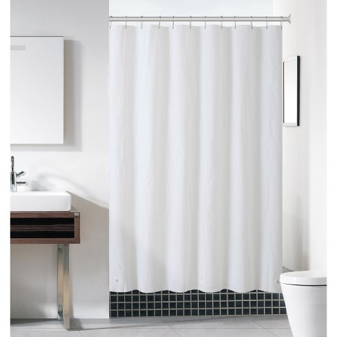 10 Gauge Vinyl Shower Curtain Liners, What Does Stall Size Shower Curtain Mean