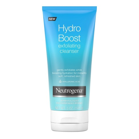Neutrogena Hydro Boost Gentle Exfoliating Facial Cleanser - 5oz - image 1 of 6