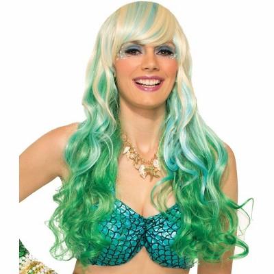 Forum Novelties Mermaid Adult Costume Wavy Wig Green