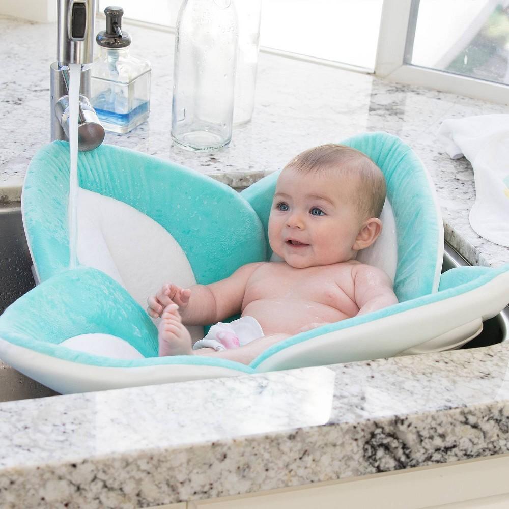 Image of Blooming Baby Blooming Bath Pastel - Seafoam