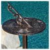 "Dia Sol 41 "" Cast Aluminum Patio Sun Dial - Copper - Christopher Knight Home - image 3 of 4"