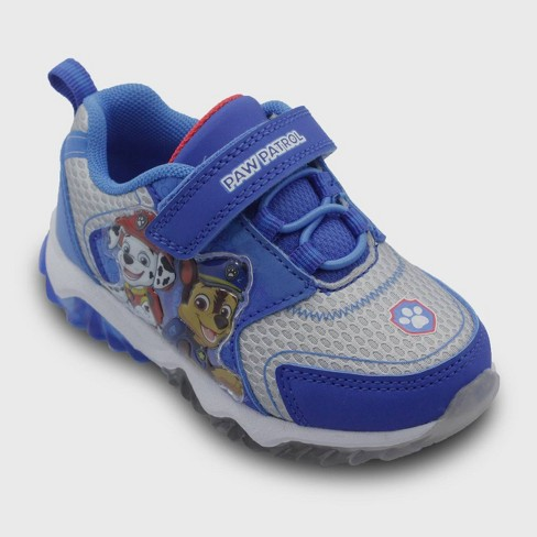 Toddler Boys' Paw Patrol Light Up Sneakers - Blue - image 1 of 3
