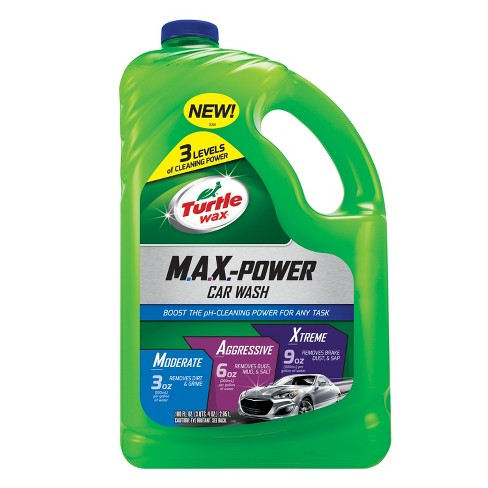 Turtle Wax MAX-Power Car Wash 100 fl oz - image 1 of 5