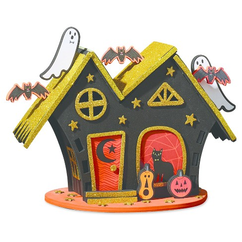 halloween 3 d haunted house craft kit hyde and eek boutique target