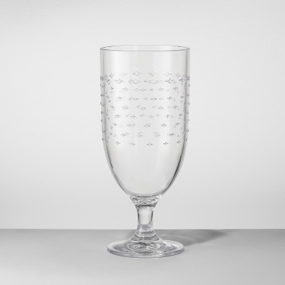 Plastic Goblet 18oz Clear - Opalhouse™