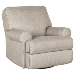 Ferncliff Swivel Glider Recliner Sepia - Signature Design by Ashley