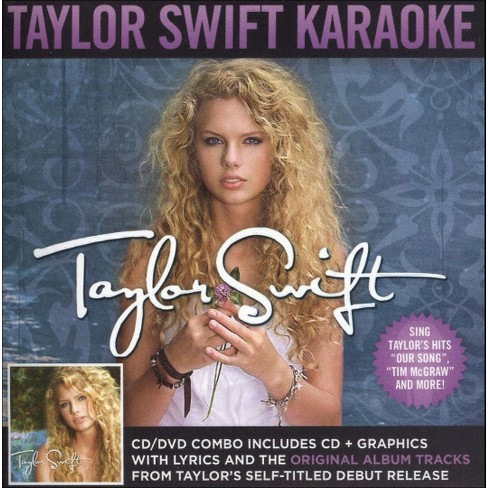 Taylor Swift Taylor Swift Karaoke Cd Dvd Target