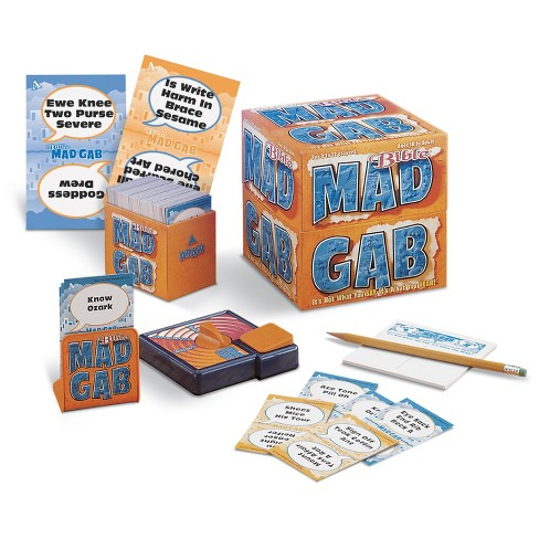 Talicor Mad Gab Game: Bible Edition - image 1 of 1
