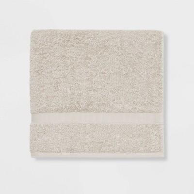 Bath Towel Gray Sand - Room Essentials™