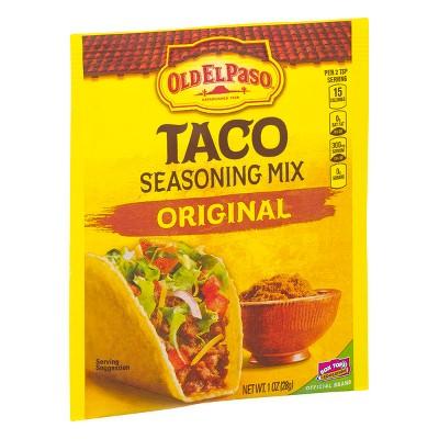 Old El Paso Taco Seasoning Mix Original 1oz