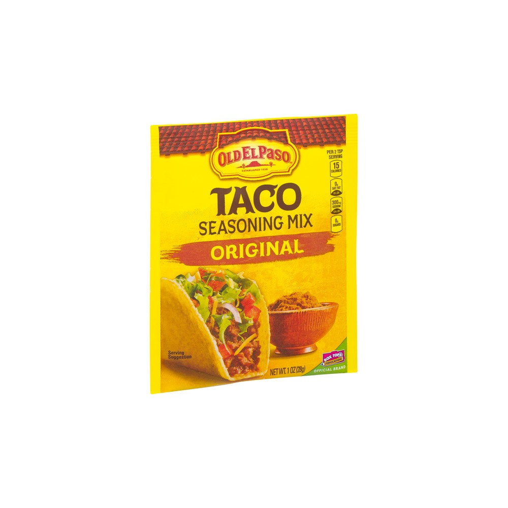 Old El Paso Taco Seasoning Mix Original 1oz