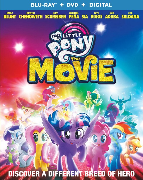 My Little Pony: The Movie (Blu-ray + DVD + Digital) - image 1 of 1