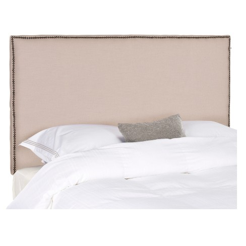Mariah Headboard Tan King - Safavieh® - image 1 of 3