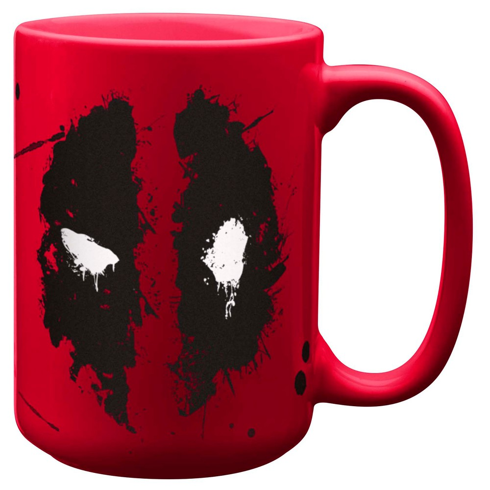 Zak Designs Deadpool Drinkware, Multi-Colored