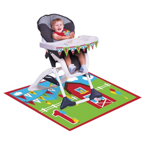 Farm Fun High Chair Decorating Kit - image 1 of 2