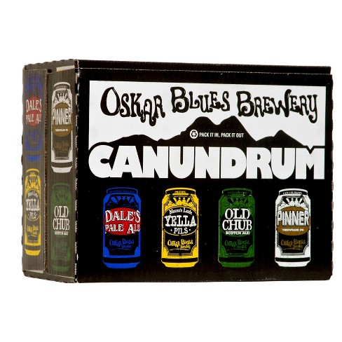 Oskar Blues® Canundrum Variety Pack Beer - 12pk / 12oz Cans - image 1 of 1