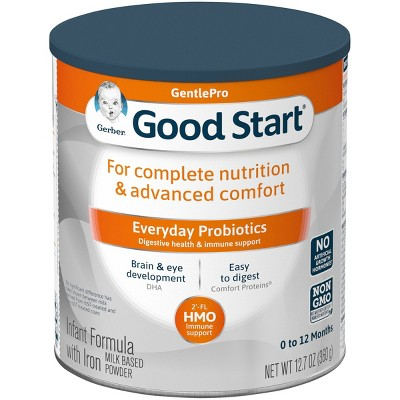 Gerber Good Start Gentle (HMO)Non-GMO Powder Infant Formula - 12.7oz