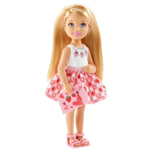 Barbie® Chelsea Checkered Valentine Dress Doll - image 1 of 4
