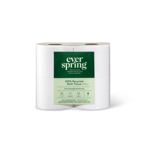 100% Recycled Toilet Paper - Everspring™ - image 1 of 2