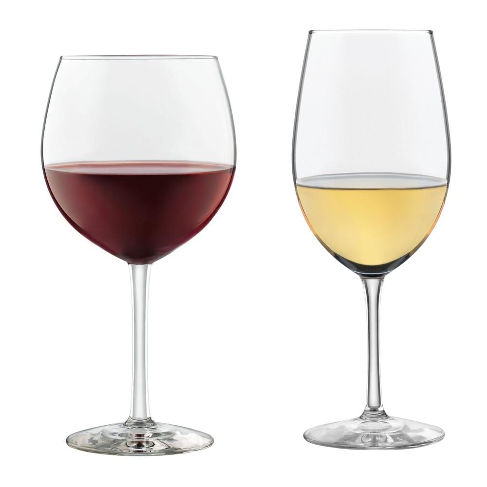 Best Buy Libbey Vineyard Reserve 12pc Wine Glass Set Clear