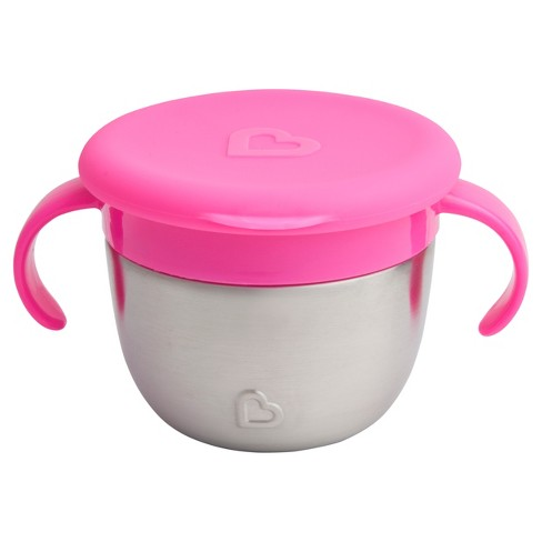 Munchkin Snack Stainless Steel Snack Catcher with Lid - image 1 of 3