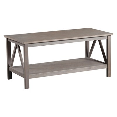 Titian Coffee Table Driftwood - Linon