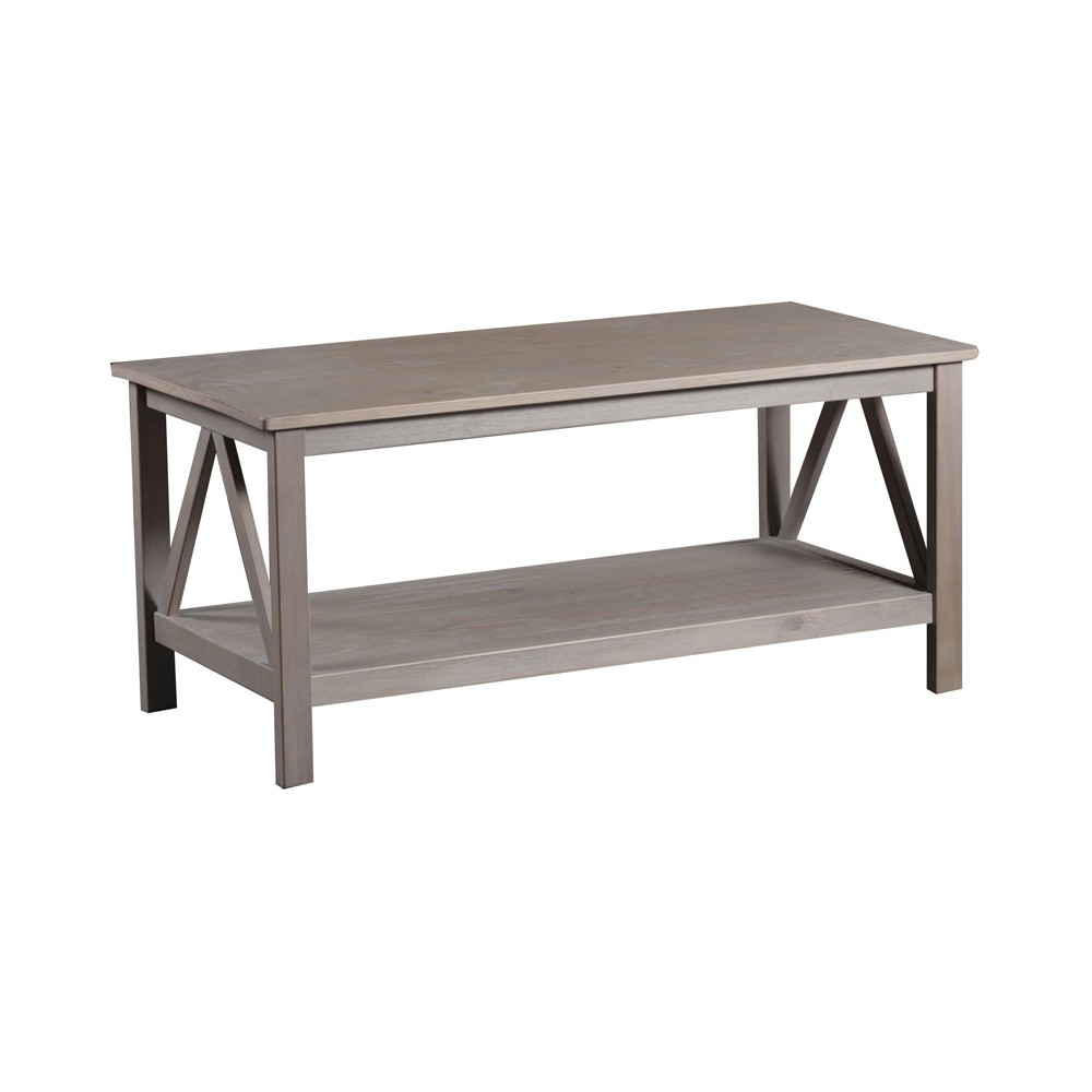 Titian Coffee Table Driftwood - Linon, Gray